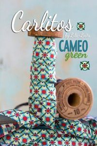 Ribbon Carlitos CAMEO green - http://www.stationeryheaven.nl/ribbons
