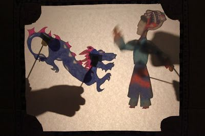 Marie's Pastiche: How to Make Chinese Shadow Puppets