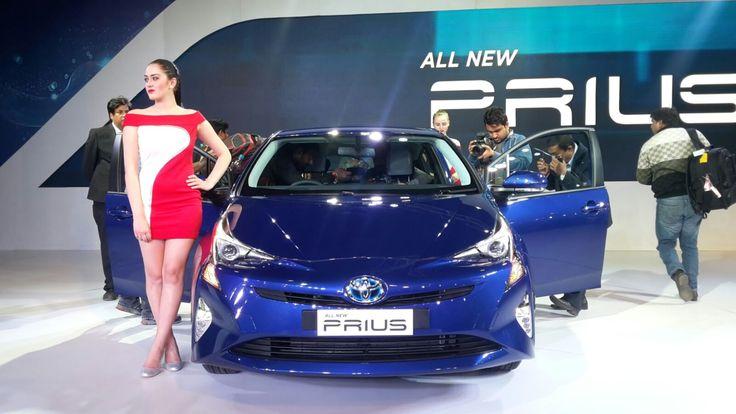 Toyota Prius at Auto Expo 2016