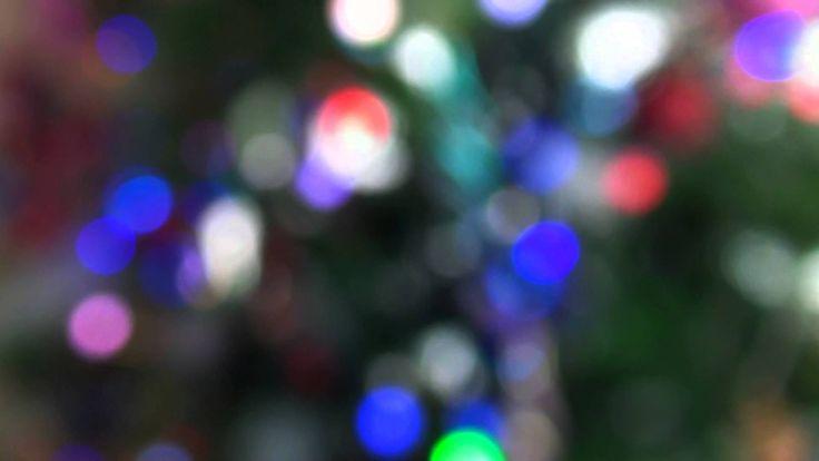 Футаж - Разноцветные фонарики