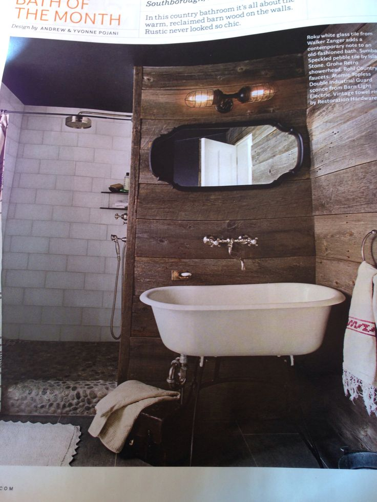 Best Rustic Bathrooms Images On Pinterest Room Home And