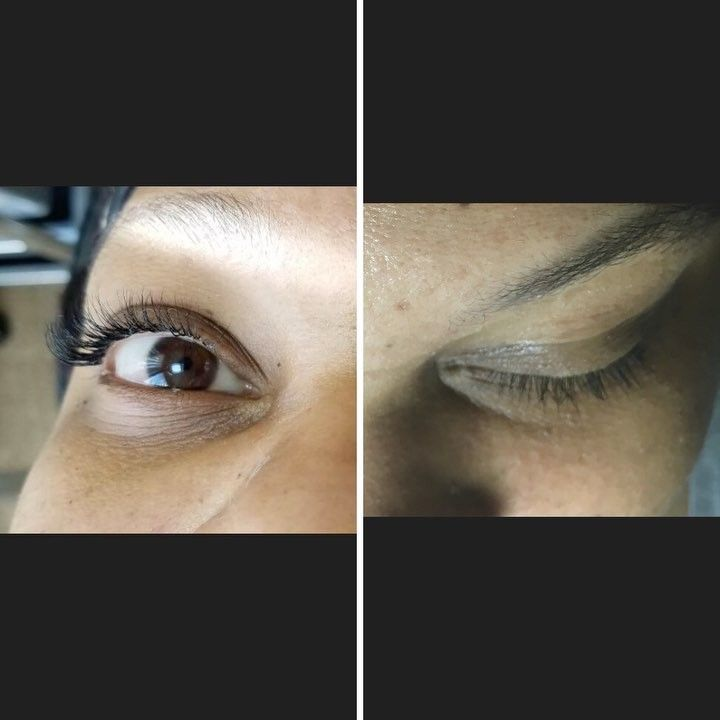 Before and after classic set of semi permanent lash extensions book by clicking link in bio...  http://ameritrustshield.com/ipost/1543190087402443851/?code=BVqgzVUhtRL