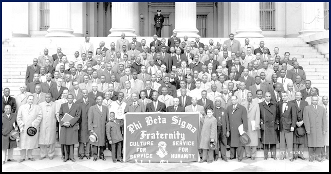 a look at the leadership of the african american fraternity through phi beta sigma Also by that date, phi beta sigma members charles r taylor and a langston taylor helped to establish the first sister sorority to a black fraternity, zeta phi beta sorority at the howard university campus sigma and zeta are the only constitutionally bound sister-brother organization among black greek-letter groups.