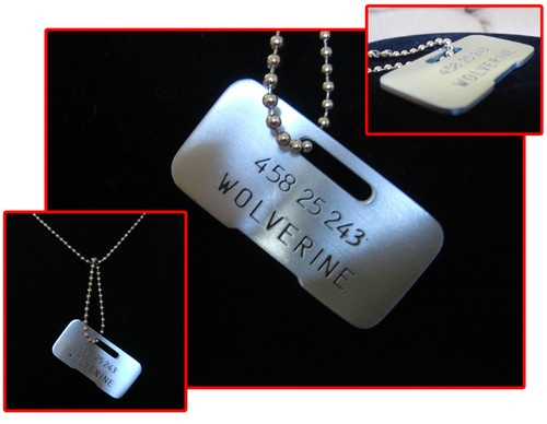 Wolverine dog tag