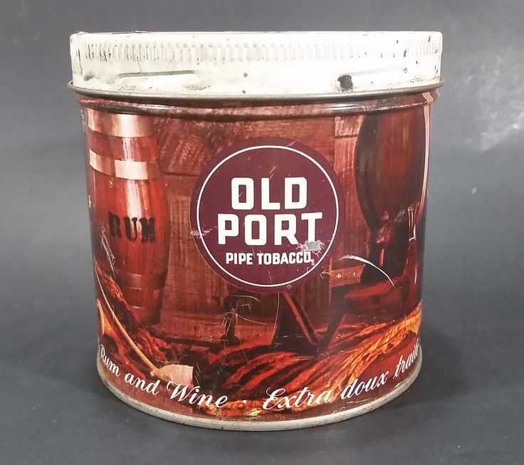 """Vintage Old Port Pipe Tobacco 'Extra Mild Flavored with Rum and Wine"""" Tin Can - Empty https://treasurevalleyantiques.com/products/vintage-old-port-pipe-tobacco-extra-mild-flavored-with-rum-and-wine-tin-can-empty #Vintage #Imperial #OldPort #Pipe #PipeTobacco #Tobacco #Tobacciana #Smoking #Smoke #ExtraMild #Flavored #Rum #Wine #Tins #Cans #Canisters #Collectibles #Decor #ManCave"""