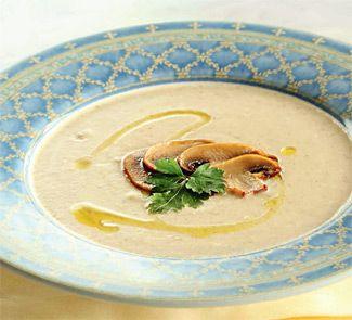 картофельный суп с шампиньонами
