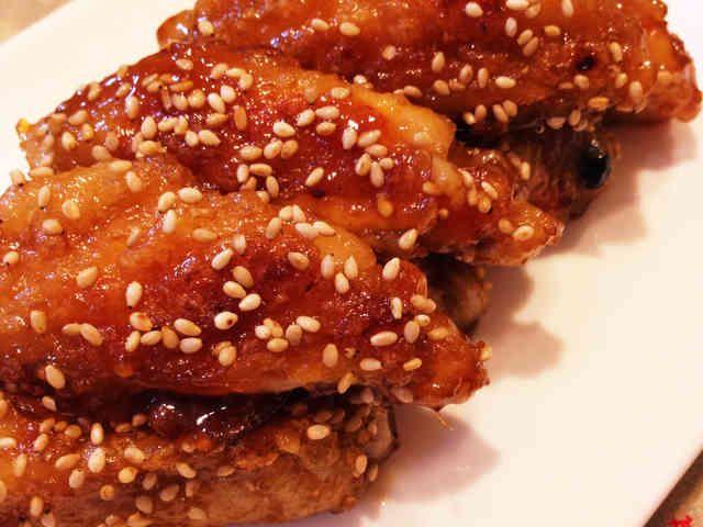 ご飯がススム♡鶏手羽中の甘辛焼きの画像