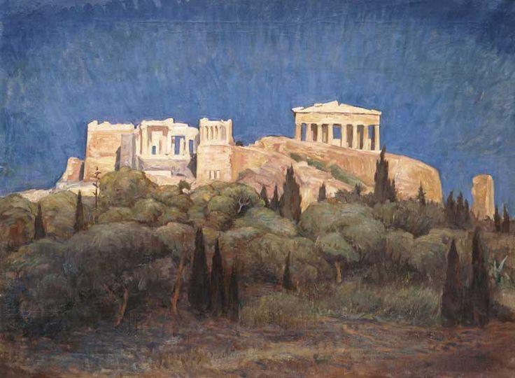 Acropolis () Lykourgos Kogevinas (Grecia, 1887-1940)