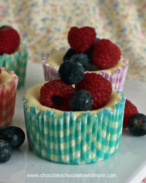 ... with fresh berries | Recipe | Lemon Cheesecake, Cheesecake and Berries