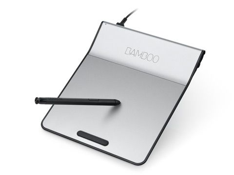 wacom Bamboo Pad USB $40,- guess it's time for me to get into digital art!