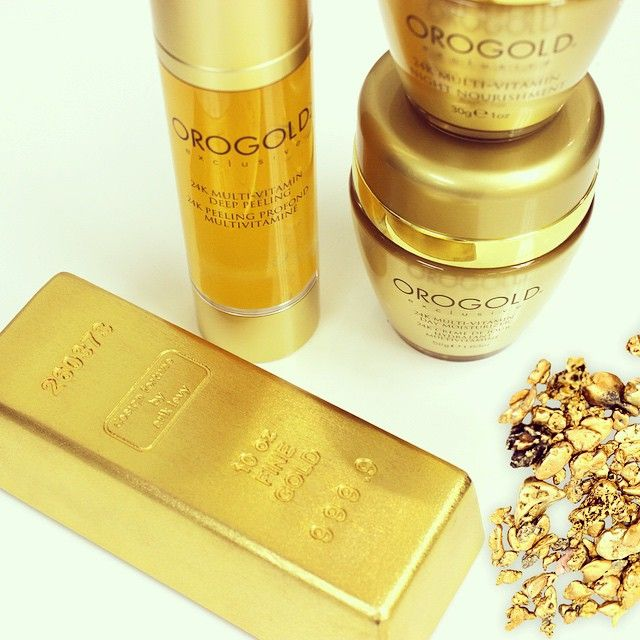Discover the ultimate in luxury skin care - gold infused products by OROGOLD Cosmetics