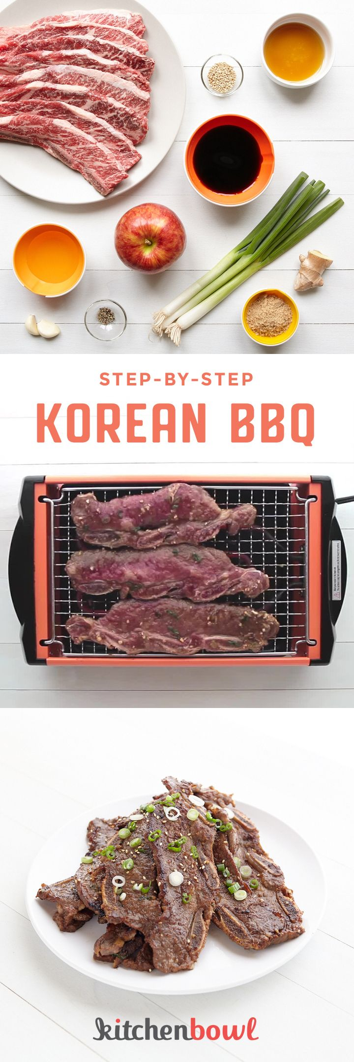 Kalbi. Galbi. LA-style or flanken short ribs. Whatever your name of choice, these Korean-style barbecue short ribs are always a crowd-pleaser.