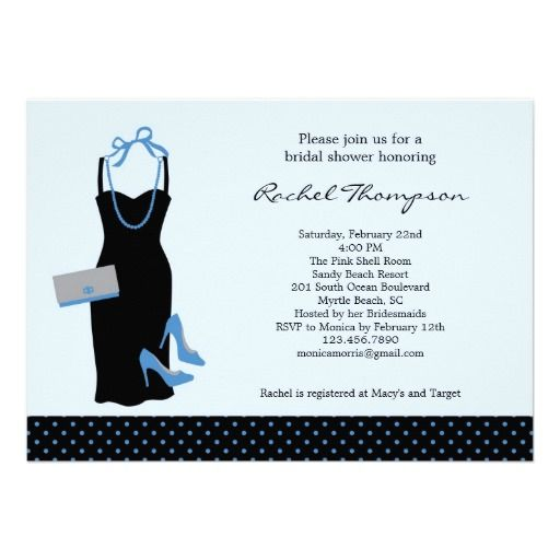 Best Party Dress Invitation