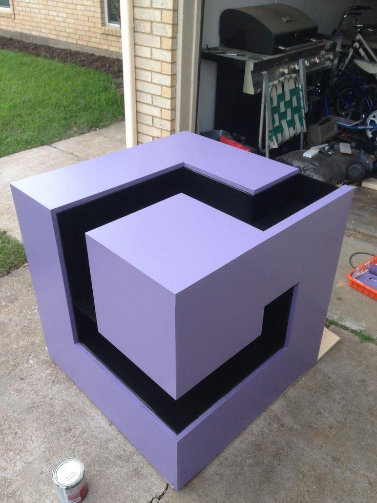 GameCube logo shelf/station