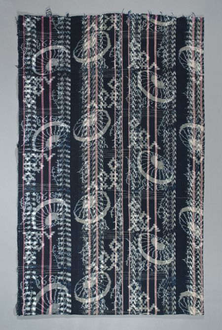 Asian Tribal Art - Double ikat futon cover, Japan