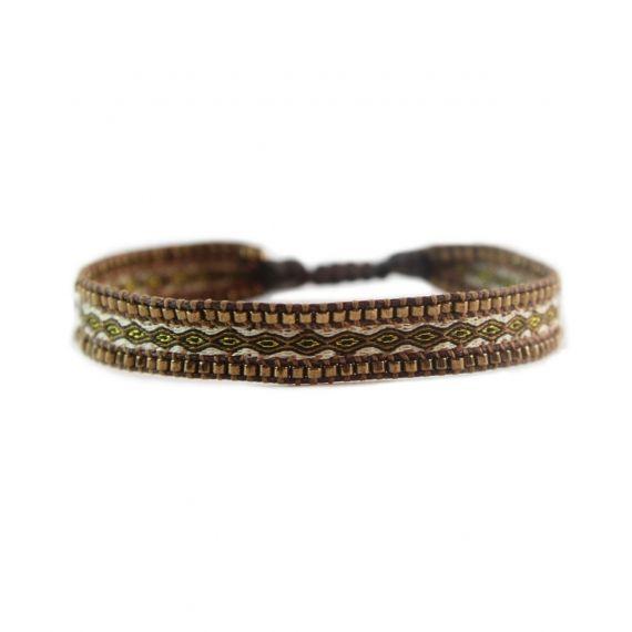 Mishky Canal Bracelet Bronze