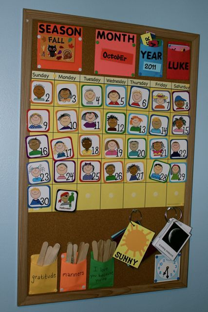 Children S Calendar With Stickers : Best ideas about kids calendar on pinterest