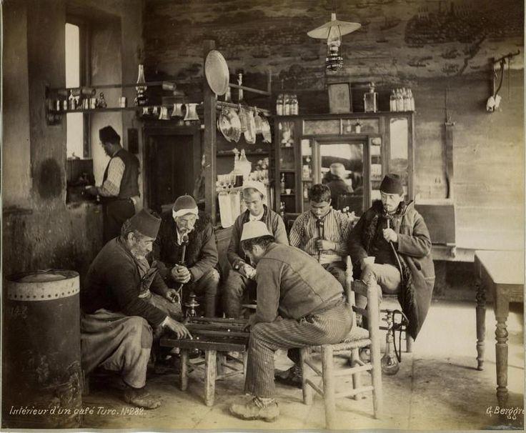 Turkish cafe. 1870)