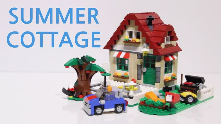 LEGO Creator Changing Seasons set: Summer Cottage stop motion build video: https://youtu.be/c8enGvF18WY