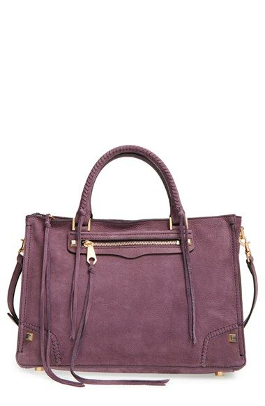 Rebecca Minkoff 'Regan' Satchel available at #Nordstrom - love this bag! Colour style and structure