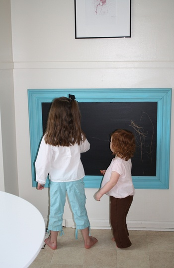 I want to do this for the boys room.  For them to play on and for me to write them special notes!