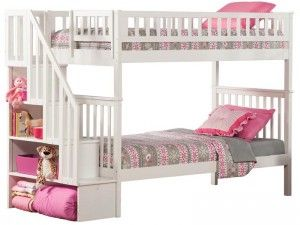 Woodland And Bunk Twin With Stairs Design