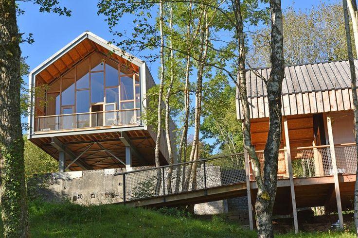 Le Bois Basalt vakantiehuizen auvergne