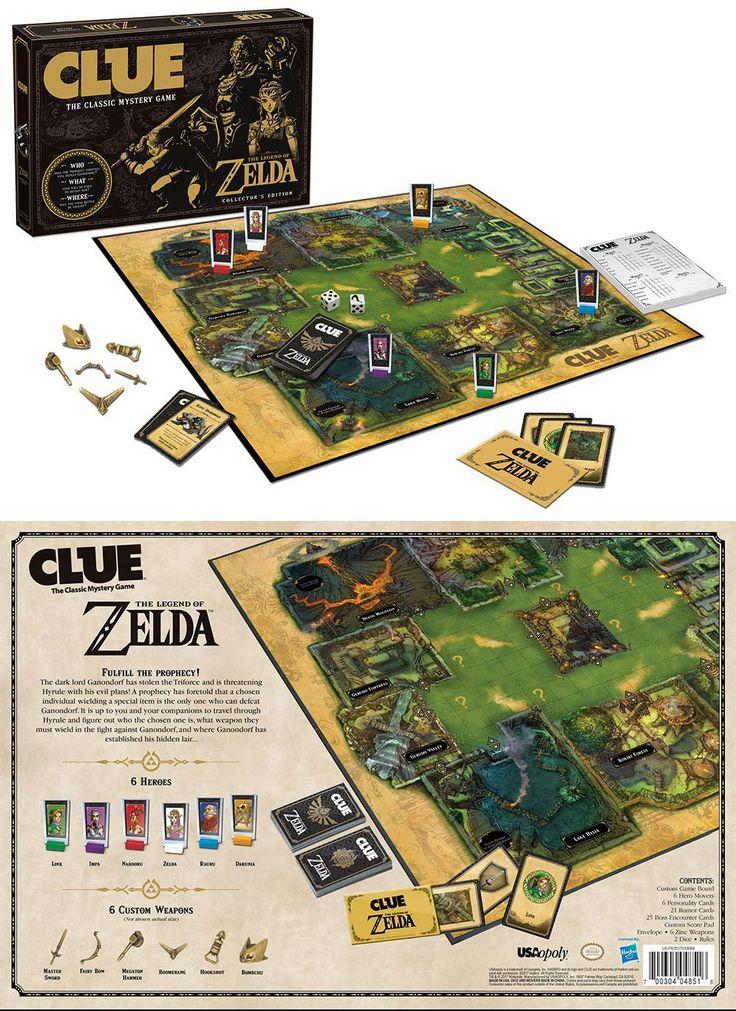 Legend of Zelda Clue Board Game #shutupandtakemyyen #zelda #legendofzelda #thelegendofzelda #clue #nintendo #boardgame #merch #merchandise #zeldamerch #zeldamerchandise #legendofzeldamerch #legendofzeladmerchandise #nintendomerch #nintendomerchandise