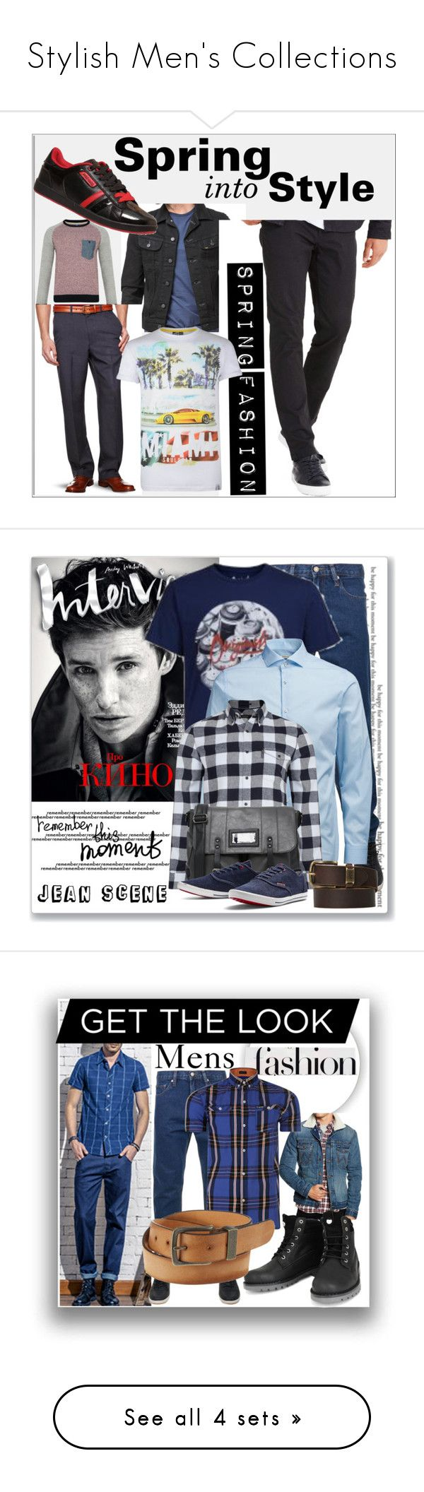 """""""Stylish Men's Collections"""" by jeanscene ❤ liked on Polyvore featuring Ecko Unltd., Jack & Jones, Smith and Jones, Soul Star, men's fashion, menswear, French Connection, Wrangler, Firetrap and Boots"""
