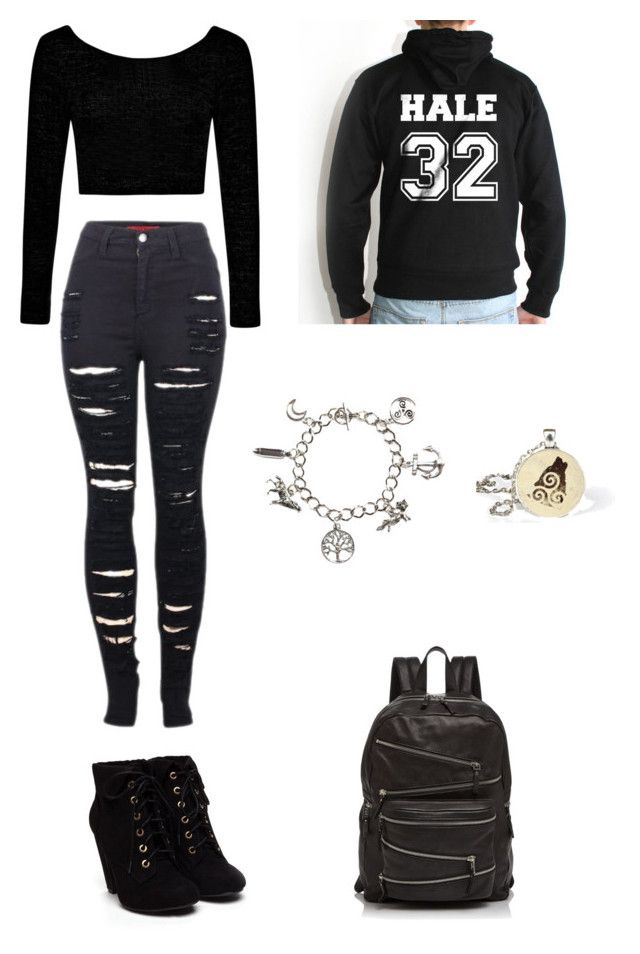 Derek Hale Outfit by itsohan on Polyvore featuring polyvore, fashion, style, Boohoo, 2LUV and Ash