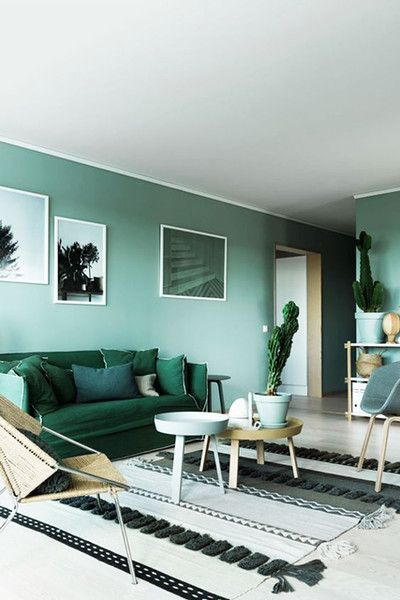Green Gradient A more relaxed approach to this look is simply taking a color, in…