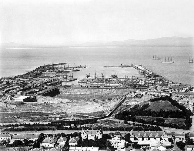 Cape Town Docks from Signal Hill 1912| Flickr - Photo Sharing!