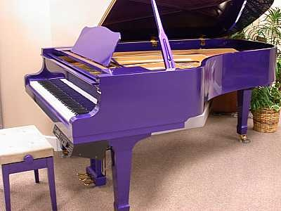 yes, a purple baby grand!: Purple Piano, Music Instruments, Baby Grand Piano, Purple Passion, Dreams Piano, Baby Need, Things Purple, Purple Things, Purple Baby