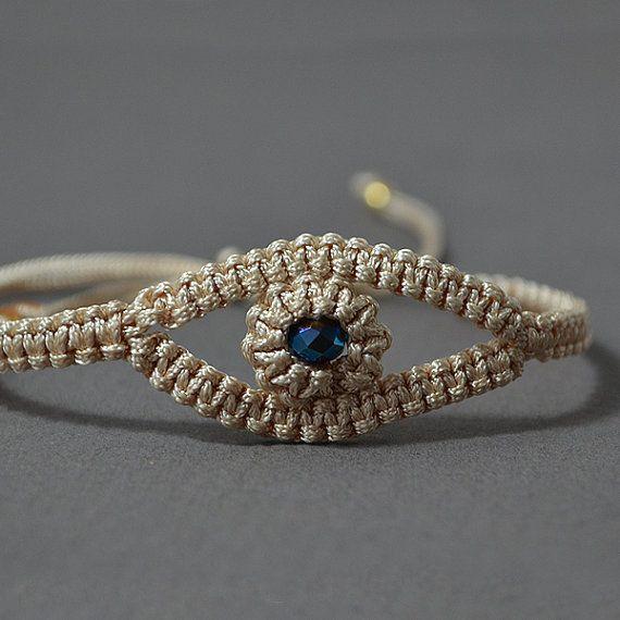 Macrame bracelet Frendship bracelet handmade by MyGraceButterfly