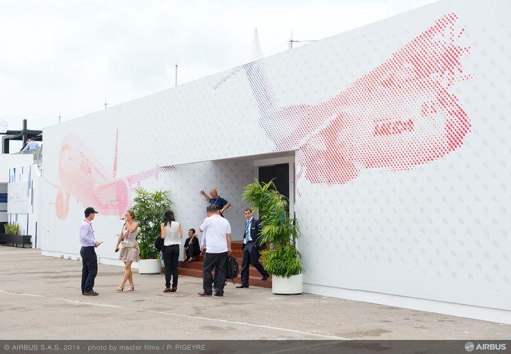 Chalet for Airbus group @ the Singapore Airshow by Proj-X Design.  www.proj-x.com.au