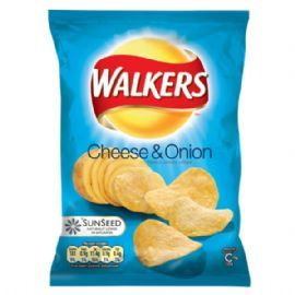 cheese and onion crisps