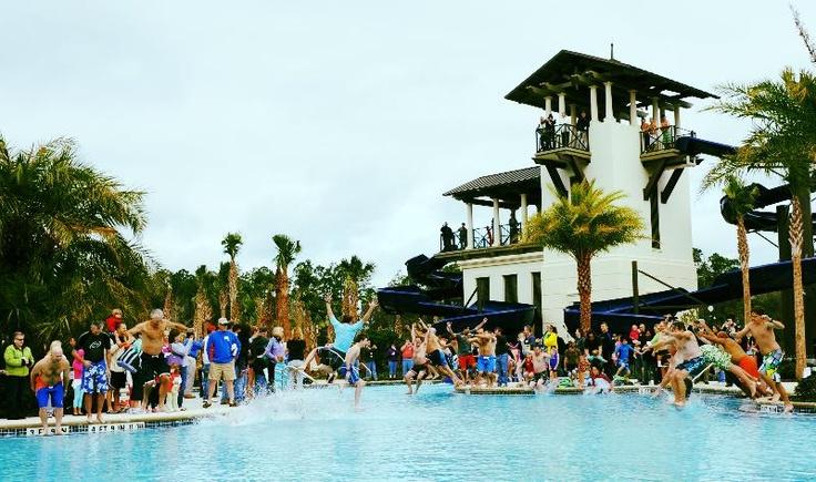 Splashing with friends at Splash Water Park. #NocateeFriends.