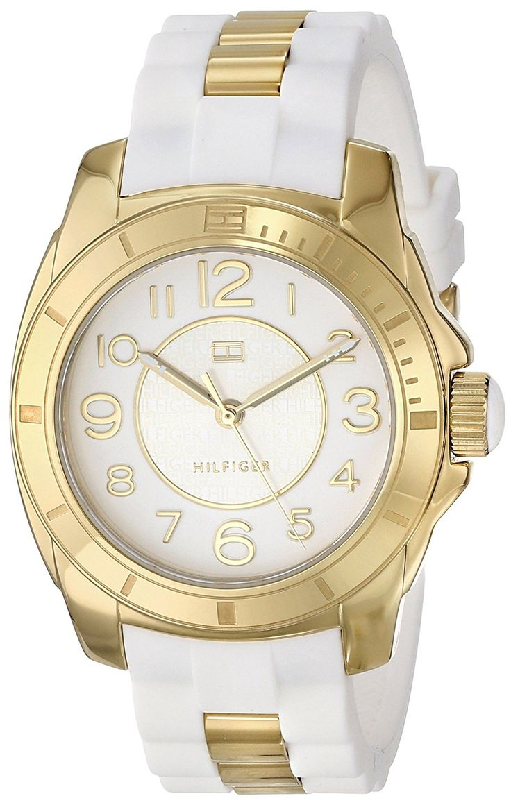 Tommy Hilfiger Women's 1781309 Analog Display Quartz White Watch >>> Learn more by visiting the image link.