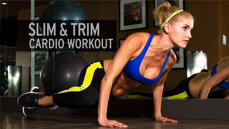 Slim and Trim Cardio Workout (+lista de reproducción)