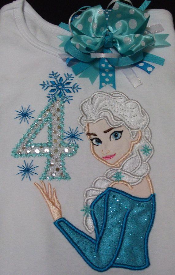 Elsa It's my Birthday shirt with Matching by Birthdayshirtsanmore, $30.00