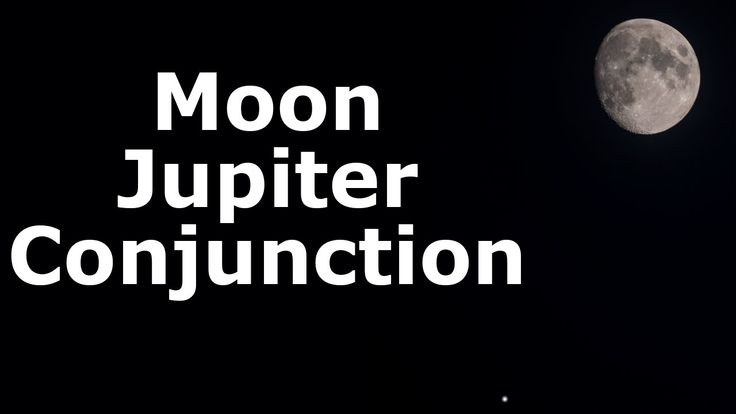 The Moon and Jupiter Conjunction - Backyard Astronomy 7th May 2017