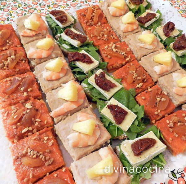 M s de 1000 ideas sobre aperitivos fr os en pinterest for Canape suggestions