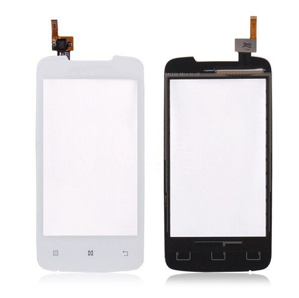 High Quality Black White A390 Front Outter Glass Sensor Touch Screen Panel Digitizer For Lenovo A390 Phone Replacement Parts #Affiliate
