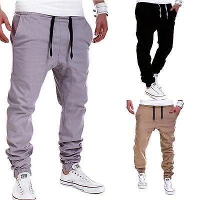 Para hombres Pantalones para Correr Harén Pantalones sueltos informales Corredor Danza Ropa deportiva Pantalones Holgados