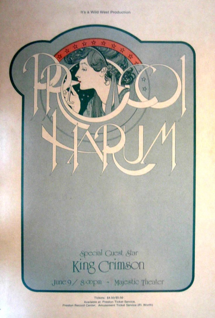 Procol Harum, King Crimson - Majestic Theater