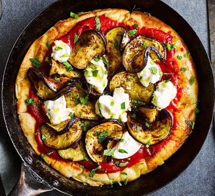 This recipe ensures a crispy-bottomed pizza without ever turning on the oven. It's easy, veggie and 2 of your 5-a-day