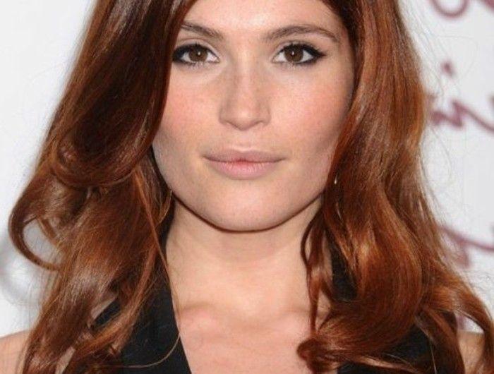 Les 25 meilleures id es concernant cheveux auburn sur pinterest cheveux auburn brun couleur - Couleur brun acajou ...