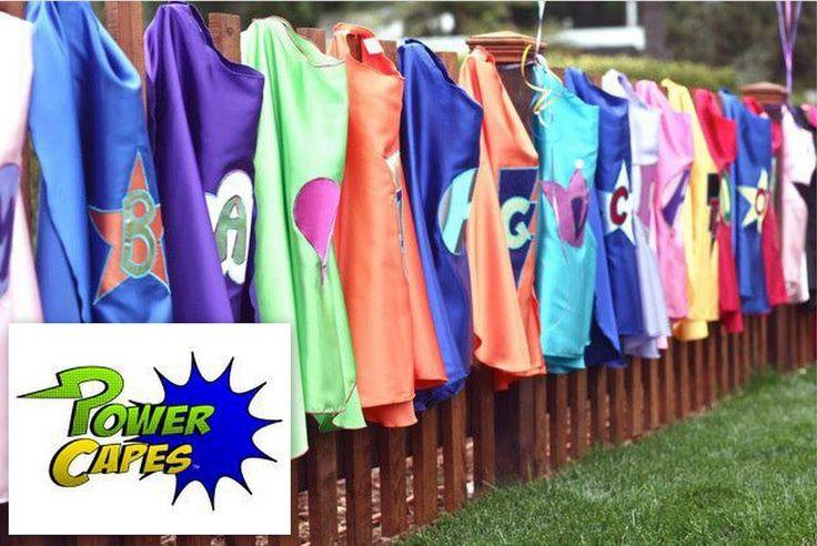 Superhero Cape | Powercapes Custom Super Hero Costumes - Keeping Kids Creative Grand ...