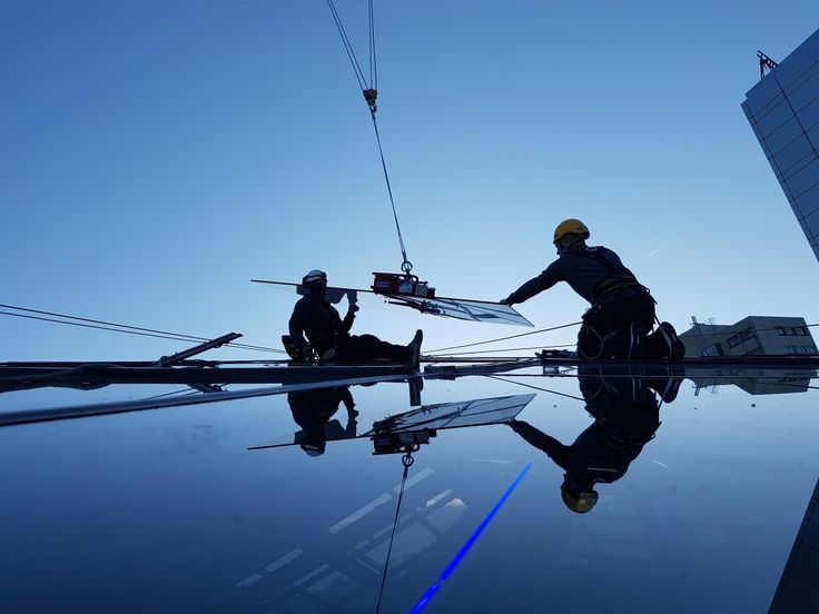 #glaszetten #ropeaccess