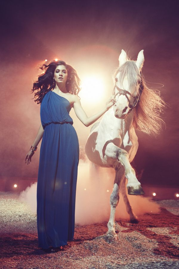 The Circus story for ELLE Bulgaria, April issue/ 2013 by Diliana Florentin, via Behance